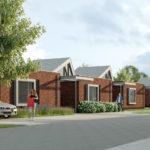 Omgeving van duurzame patio bungalows woningen Dennenhof Loon op Zand